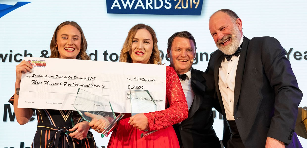 Joint Winners: Sophie Whyman and Megan Fallows crowned Sandwich Designers of the Year 2019
